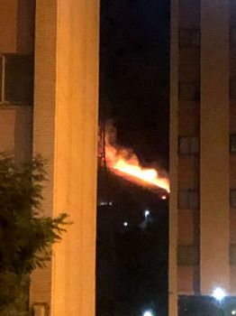 آتش سوزی سریالی در بوستان های تهران / بخشی ازچیتگر آتش گرفت