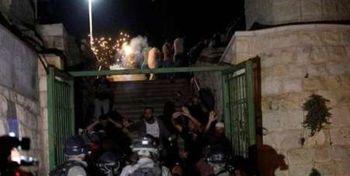 یورش شبانه به مسجد الاقصی