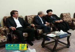 عکس یادگاری اعضای شورای شهر پنجم و شهردار جدید تهران با یادگار امام (ره) + عکس