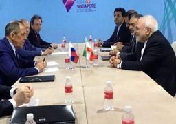 ظریف و لاوروف دیدار کردند + فیلم/ گفت وگوی تلفنی ظریف با وزیر خارجه فرانسه