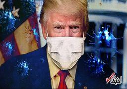 اطرافیان رئیسجمهور میگویند کرونا توطئه رسانهها برای تخریب ترامپ است