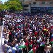 تصاویر روز خشم؛ تظاهرات ساکنان غزه علیه طرح الحاق کرانهباختری