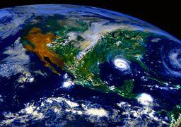 عکس جدید و برجسته ناسا از کره زمین
