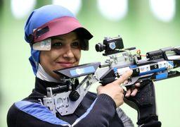 دختر ایرانی در جام جهانی تیراندازی طلایی شد