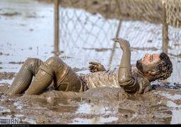 گزارش تصویری فوتبال در شالیزار (فوتچل)