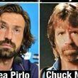 شباهت جالب فوتبالیست ها و هنرپیشه های مشهور هالیوود + عکس