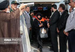 استقبال سعودی از نخستین گروه زائران ایرانی