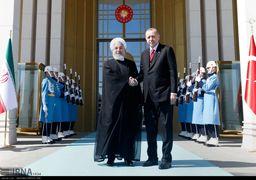 استقبال اردوغان از روحانی+ گزارش تصویری