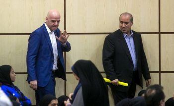"""اینفانتینو برای """"بررسی حضور زنان در ورزشگاهها"""" به ایران میآید"""