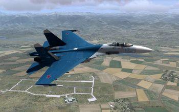 رهگیری بمب افکنهای آمریکا توسط جنگندههای روسیه