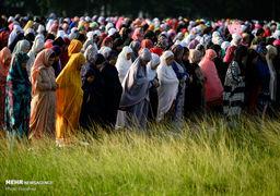 تصاویر نماز عیدقربان مسلمانان جهان