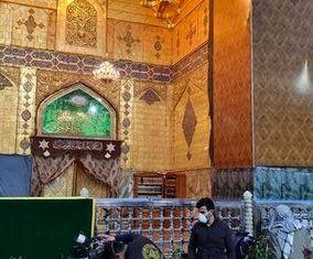 بسته شدن درهای حرم امام علی (ع) برای پیشگیری از کرونا