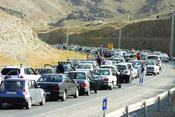 کاهش ۱۱ درصدی ترافیک جادهها/6 محور مسدود شد