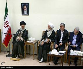 دیدار مسئولان و فعالان فرهنگی استانهای یزد و همدان با رهبر معظم انقلاب