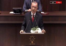 اردوغان ضمن تهدید خلیفه حفتر؛ مانع هر حمله نظام سوریه در ادلب میشویم