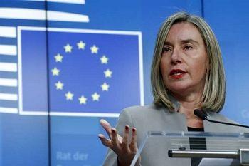 حمایت اتحادیه اروپا از تلاش عراق برای میانجیگری بین ایران و آمریکا