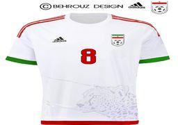 بازگشت یوز ایرانی روی پیراهن تیم ملی