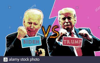 نتیجه نظرسنجی سیبیاس به محض پایان مناظره اول؛ بایدن ۴۸، ترامپ ۴۱