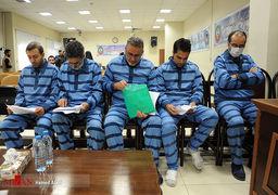 تصاویر اولین جلسه رسیدگی به اتهامات ۵ متهم ارزی