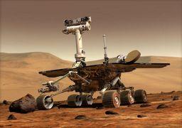 تصویر شگفت انگیز یک خانواده در سیاره مریخ!