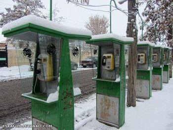 استفاده از کیوسک تلفن برای وایفای شهری