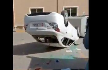 فیلم| شورش در ابوظبی؛ یورش کارگران خشمگین به اموال هلدینگ سواعد