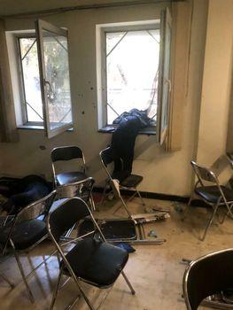 کابل ؛ تصویر غم انگیز کشته شدن دو دانشجوی دختر در کلاس