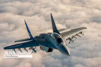 جنگنده اف15 آمریکا سقوط کرد