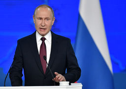 قول پوتین برای پاسخ متقابل به واشنگتن