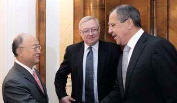 گفتوگوی لاوروف و آمانو در مورد برنامه هستهای ایران