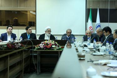حضور دادستان کل کشور در اتاق بازرگانی ایران