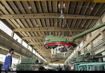 گزارشی از محل بازسازی تانکهای سپاه+گزارش تصویری