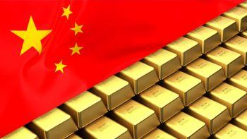 افزایش واردات طلای چین برای سومین ماه متوالی