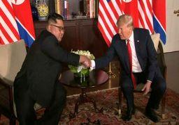 دیدار تاریخی ترامپ و کیم جونگ اون برگزار شد/ اظهارات دو طرف +عکس