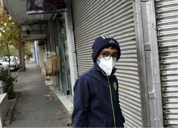 حرکت جالب سلبریتی ایرانی با فرزندانش برای آلودگی هوا +عکس