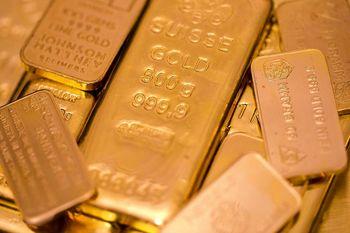 رشد بازارهای سهام موجب افت طلا شد/هر اونس 1233 دلار