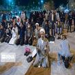 تصاویری از تجمع مخالفان بسته شدن حرم حضرت معصومه(س)