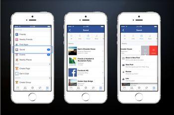 قابلیت جدید فیس بوک به نام «ذخیره»