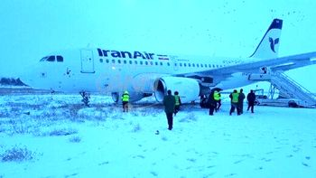 هواپیمای ایرباس ۳۱۹ شرکت هواپیمایی ایران ایر در کرمانشاه دچار حادثه شد + جزئیات