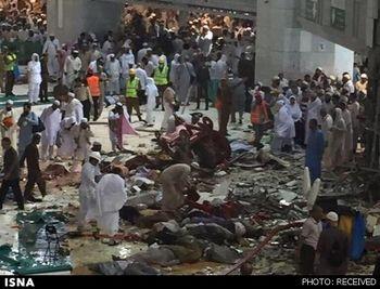 ۶۵ زائر قربانی سقوط جرثقیل در مکه شدند/ ۱۵ ایرانی در بین مجروحان