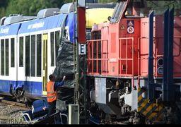 تصاویر برخورد دو قطار مترو