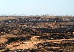 آتش بادبادکهای فلسطینی در مزارع اسرائیل