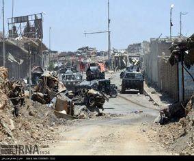جنگ شهری با داعش در خیابان های موصل