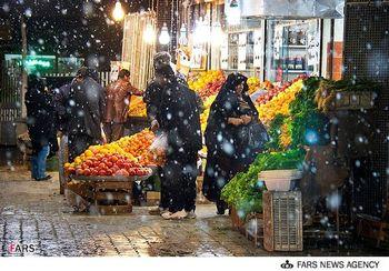 بارش برف چه تاثیری در بازار کالاهای اساسی داشته است؟
