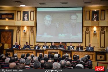 حضور رئیس مجلس در جمع اتاقیها(گزارش تصویری)