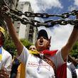 تلاش معترضان ونزوئلا برای جلب حمایت روسیه و چین