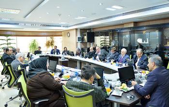 برگزاری نشست مشترک هیات رئیسه اتاق تهران و گروه خواستاران تحول