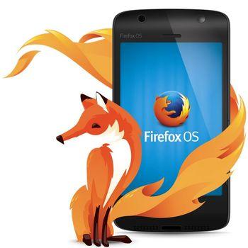 گوشی فایرفاکسی موزیلا از راه رسید