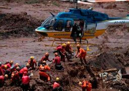 فیلم لحظه مرگبار پس از فروریزی سد در برزیل