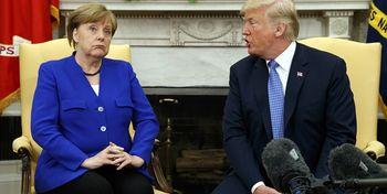 مرکل پایان رهبری آمریکا در جهان را اعلام کرد